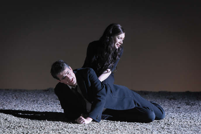 Patricia Petibon (Eurydice) et Philippe Jaroussky (Orphée) dans«Orfeo ed Euridice», de Gluck, mis en scène par Robert Carsen.