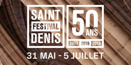 Affiche du Festival de Saint-Denis.