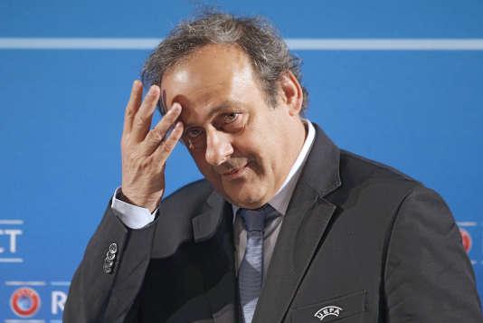 Michel Platini, en février 2014.