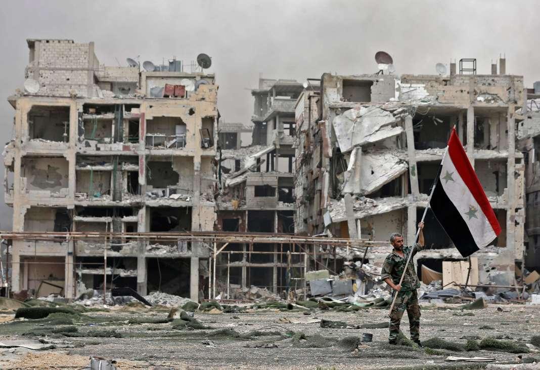 A Yarmouk, le 22 mai.