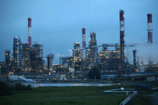 La raffinerie Total de Donges (Loire-Atlantique), en novembre 2017.