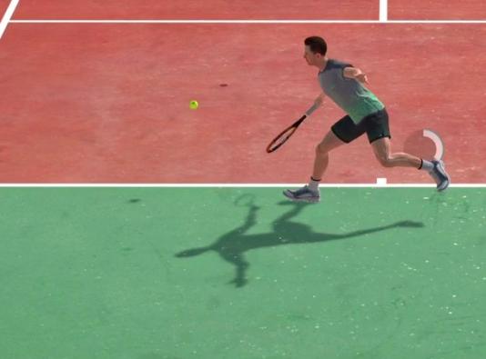 Comme l'ont remarqué certains joueurs, raquette et balle ne se touchent pas toujours, dans les simulations de tennis.