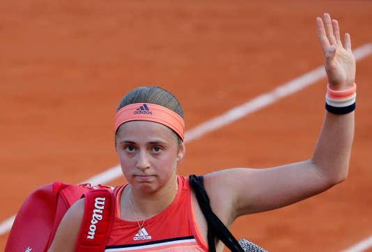 Jelena Ostapenko.
