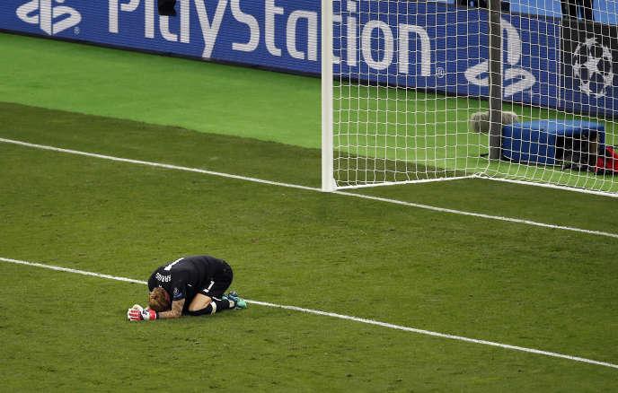 Loris Karius, seul au monde après la défaite de Liverpool en finale de Ligue des champions.