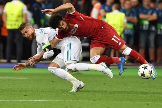 La prise de judo de Ramos.