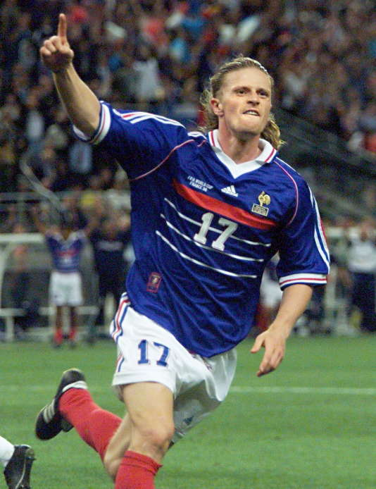 Emmanuel Petit a gagné sa place au dernier moment avant le Mondial 1998.