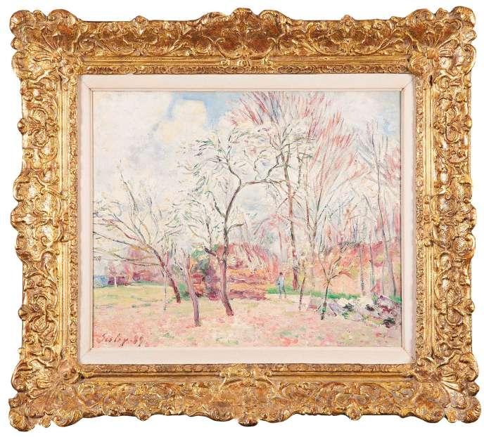 «Premier jour de printemps à Moret» (1889), d'Alfred Sisley.