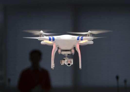 Un drone de loisir de la marque DJI.