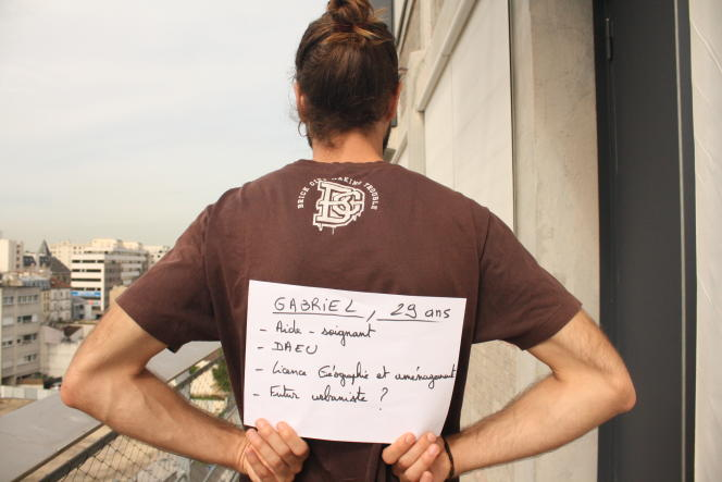 Gabriel L., 29 ans, étudiant en troisième année de licence, qui vit à Colombes (Hauts-de-Seine).