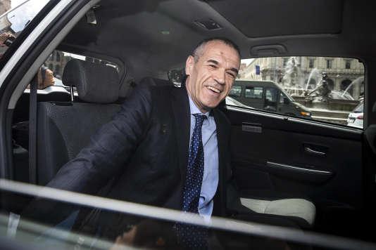 Carlo Cottarelli arrive au Quirinal, lundi 28 mai à Rome.