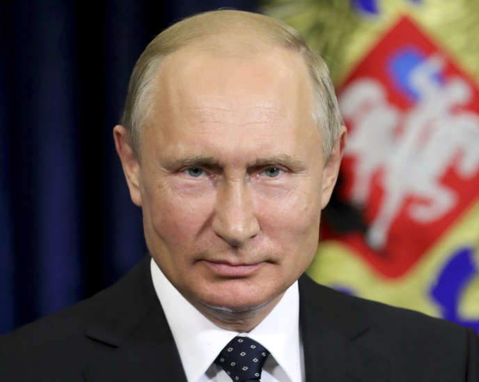 Vladimir Poutine, à Moscou, le 28 mai.