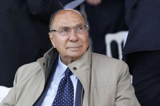 L'ancien sénateur LR Serge Dassault, le 14 juillet 2014.
