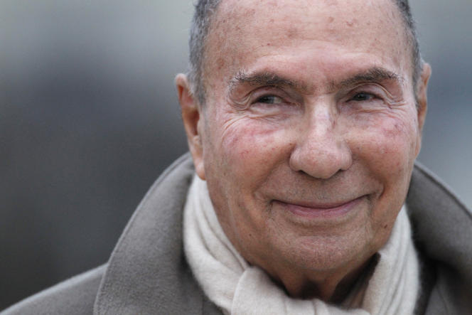 Serge Dassault, en mars 2012.