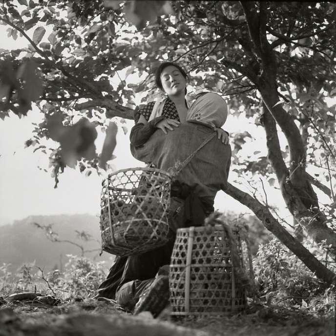 Sachiko Hidari prête ses traits aux différents âge de Tome, dans «La Femme insecte», de Shohei Imamura.