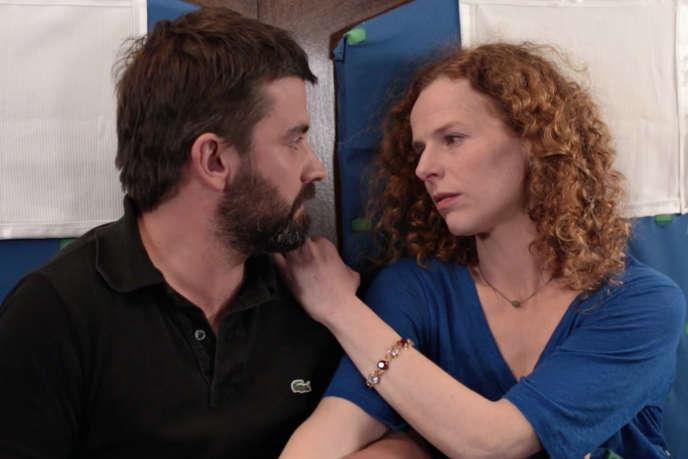 A côté d'Olivier (Pascal Cervo), Angélique (Astrid Adverbe) est l'héroïne de «Train de vies», de Paul Vecchiali.
