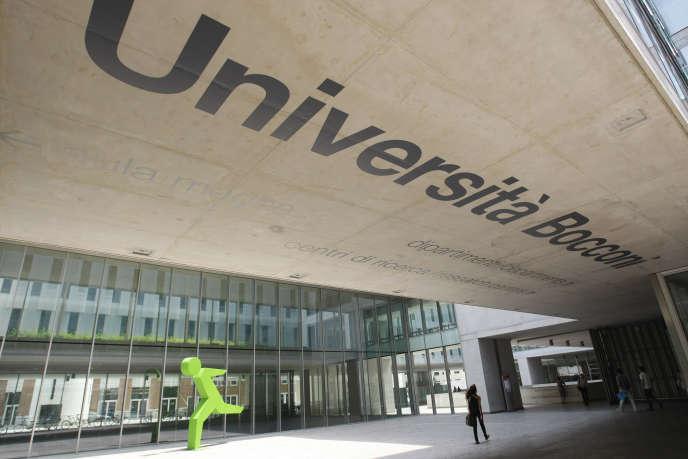 L'université Bocconi de Milan, en juin 2011.