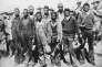 Les «Scottsboro Boys», accusés à tort d'avoir violé deux Blanches. Alabama, début des années 1930. Photo extraite de la «Negro Anthology».