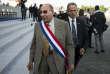 Paris le 14 juillet 2013. Defile du 14 juillet. Serge Dassault. Albert Facelly pour Le Monde