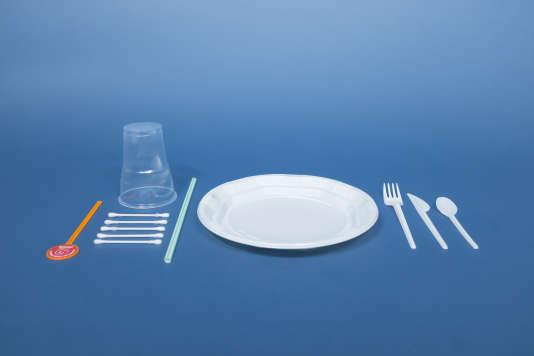 Les produits à usage unique enplastique représentent plus de 70 % de la pollution sur les plages européennes.