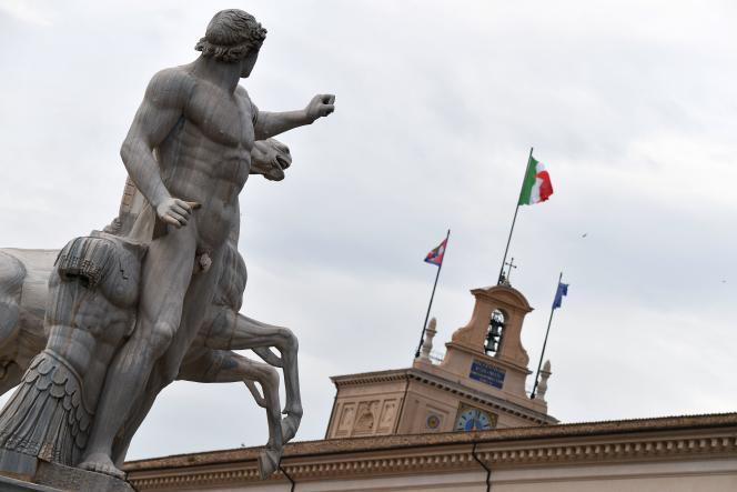 Palais du Quirinal, à Rome, siège de la présidence de la république italienne/ AFP / Alberto PIZZOLI