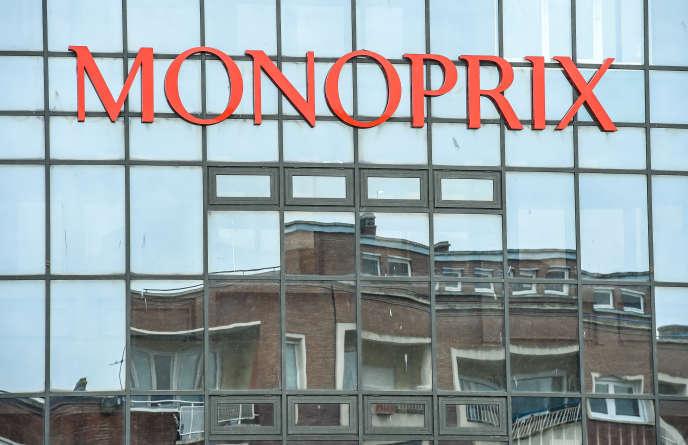 L'enseigne Monoprix à Dunquerke (Nord), le 27 mars 2018.