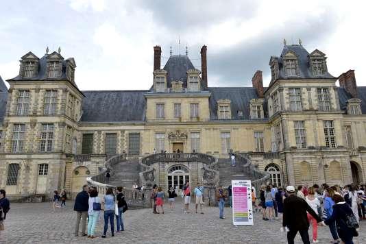 La 7e édition du Festival de l'histoire de l'art, au château de Fontainebleau, en juin 2017.