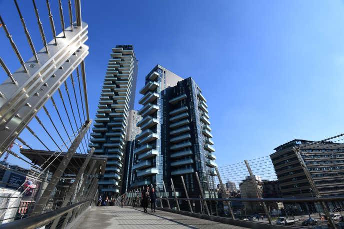 Porta Nuova, le quartier des affaires de Milan.