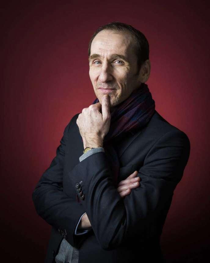 L'écrivain et éditeur Jean Mattern, en 2015.