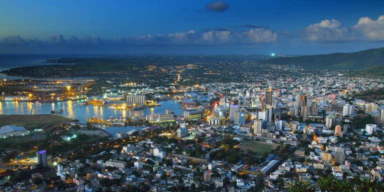 Port-Louis, capitale de l'île Maurice, en 2011.