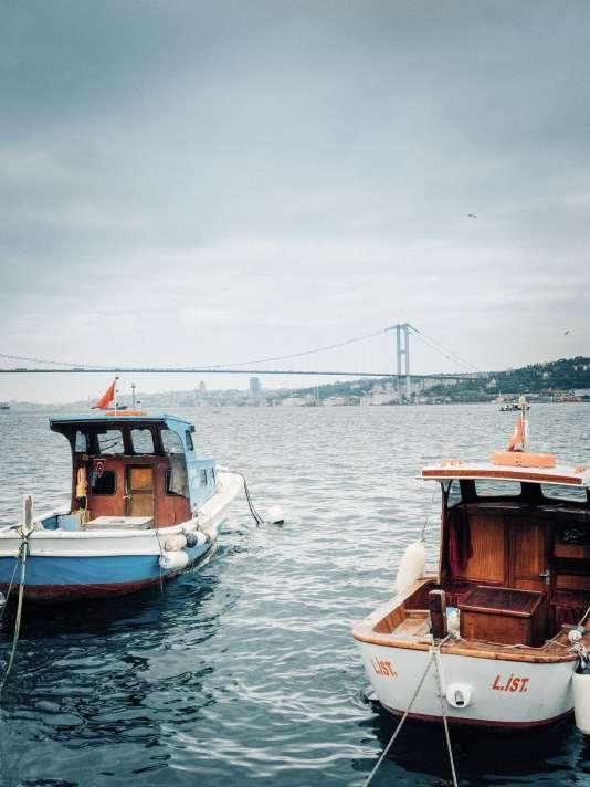 Vue sur le Bosphore, à Istanbul.