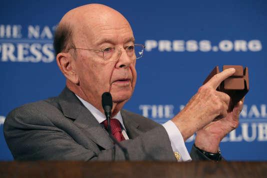 Le secrétaire américain au commerce, Wilbur Ross, le 14 mai, à Washington.