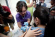 A woman from Beijing receives an injection of the Gardasil 9 human papillomavirus (HPV) vaccine, which, according to local media, is the first in mainland China, at a hospital in Boao, Hainan province, China May 30, 2018. REUTERS/Stringer ATTENTION EDITORS - THIS IMAGE WAS PROVIDED BY A THIRD PARTY. CHINA OUT.