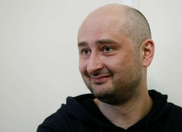 Arkadi Babtchenko, le 30 mai à Kiev.