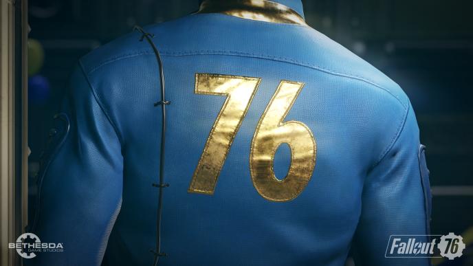 La combinaison de l'abri anti-atomique 76, déjà évoqué dans« Fallout 3».