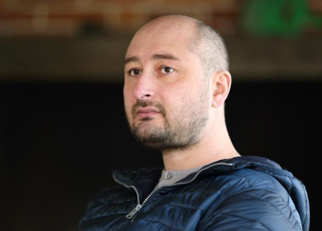 Arkadi Babtchenko, en novembre 2017, à Kiev.