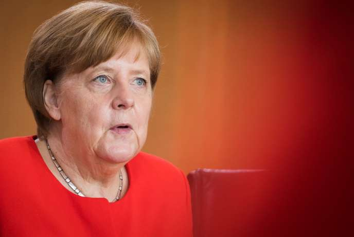 Angela Merkel à Berlin, le 30 mai.