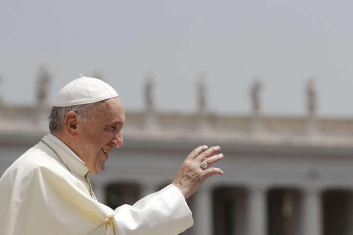 Au Vatican, le 30 mai.