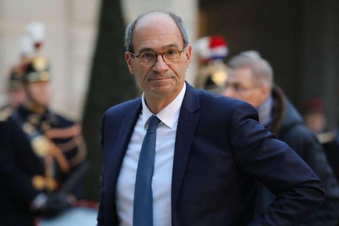 Le député Les Républicains de l'Oise Eric Woerth, à Paris, le 30 janvier.
