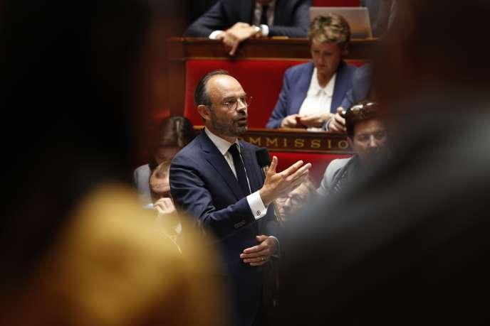 Le premier ministre a fait cette annonce lors des questions au gouvernement, mercredi 30 mai, à l'Assemblée nationale.