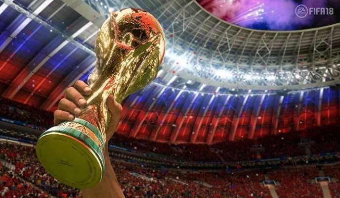 La mise à jour de« FIFA 18» donne la France gagnante contre l'Allemagne en finale de la Coupe du monde 2018.