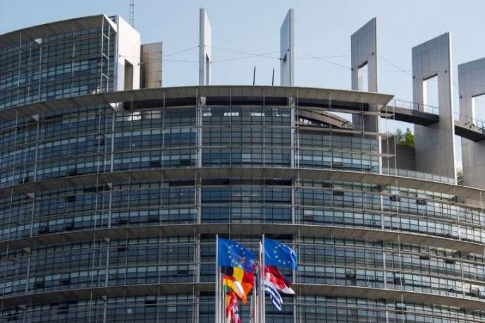 Le Parlement européen, à Strasbourg, le 3 avril 2017.