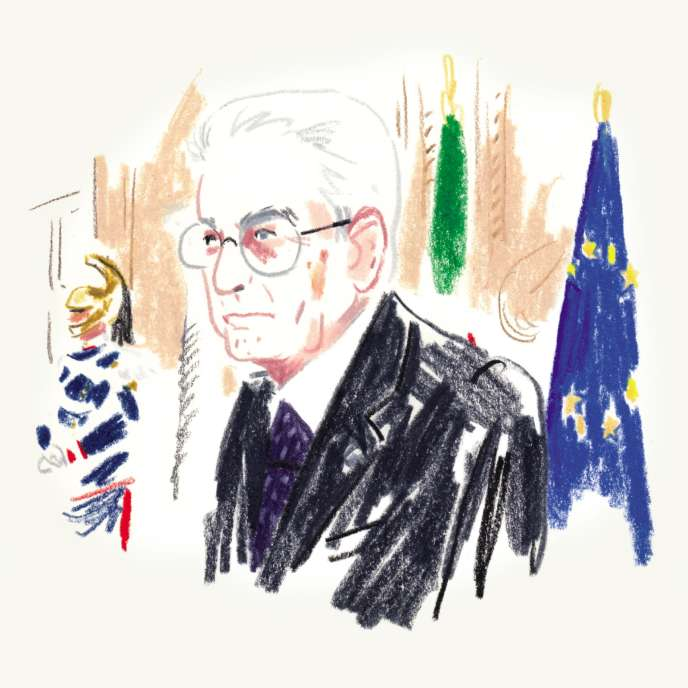 Sergio Mattarella,président de la République italienne.