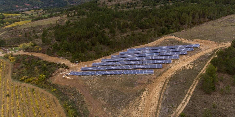 Dans l'Aude, une centrale photovoltaïque financée et gérée par les habitants