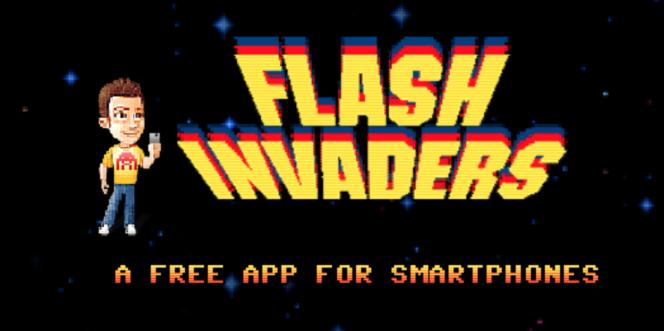 Cette appli consiste à collectionner les« space invaders» en mosaïque croisés dans la rue.