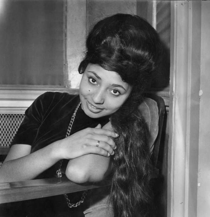 Lara Saint Paul, à Sanremo (Italie), le 8 février 1962.