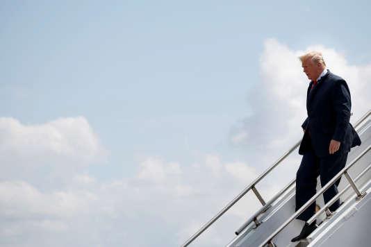 Le président des Etats-Unis Donald Trump, le 31 mai