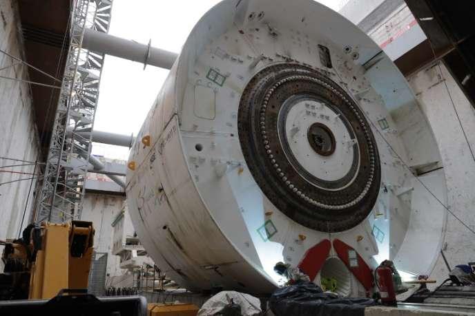 Chaque tunnelier utilisé pour le Grand Paris Express coûte 20 millions d'euros, pour creuser au maximum 12 mètres par jour.