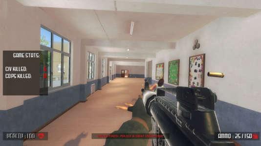 Le simulateur de tuerie scolaire« Active Shooter» a été retiré après deux jours de polémique.