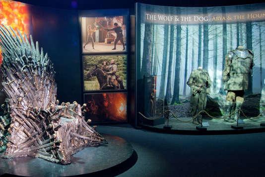 L'exposition consacrée à la série« Game of Thrones» s'installe à la Porte de Versailles jusqu'au 2 septembre.