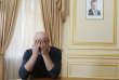 Arkady Babtchenko lors d'une interview, après sa «résurrection médiatique», le 31mai.